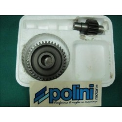 Ingranaggi rapporto secondario Polini Z 16 - 17 Piaggio Zip