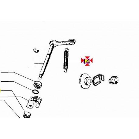 Schema Elettrico Ape Tm 703 : Molla ritorno leva coperchio frizione piaggio ape tm mp car