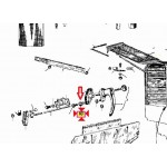 Terminale maniglia Originale Piaggio Ape con Furgone