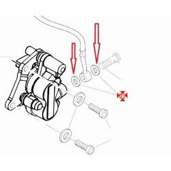 Rondella In Rame Per Tubo Freno Standard