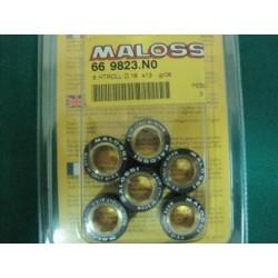 Serie massette rulli variatore D. 16 x 13 gr. 8 Malossi