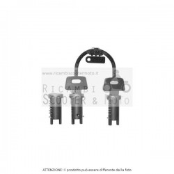 3 Stück Kit Schlösser Zadi Original-Piaggio Cosa 1 (Vnr1T) 125 88/90