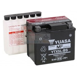 Batteria Yuasa YTX5L-BS con acido KYMCO MAXXER/Mongoose 50 05/10