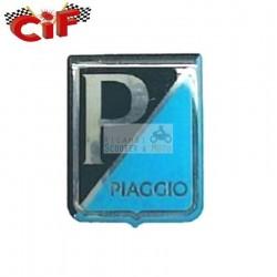 Scudetto logo fregio scudo anteriore adesivo resinato Piaggio Vespa Vecchi Modelli