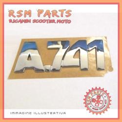 Adesivo decalco logo porta portellone posteriore Originale Aixam A 741