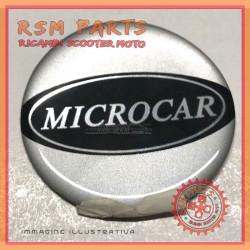 Adesivo Stemma logo centrale cerchi in lega Originale Microcar VIRGO MC1