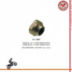 Cono Per Asse Ruota Diametro 11 Mm Per Ciclomotori