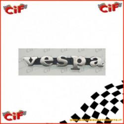 Targhetta Scritta Vespa Pe 200 2T 1977-1986 Per Scudo Anteriore
