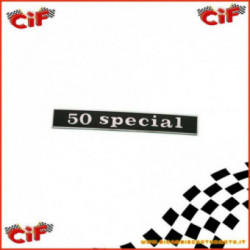 Targhetta 50 Special Parte Posteriore Vespa 50 S 2T 1963-1984