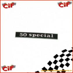 Targhetta 50 Special Parte Posteriore Vespa 50 Special 2T 1972-1975