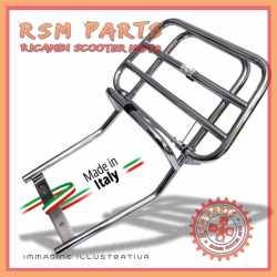 Portapacchi posteriore cromato con ribaltina Vespa 50 Special