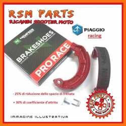 Mâchoires de frein arrière ProRace Vespa 50 125 FL2 HP V