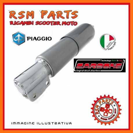 Stoßdämpfer Carbone vorne für Vespa PX 150 1978/1997