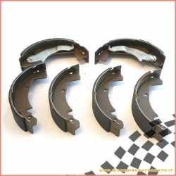 Kit brake shoe NEWFREN Piaggio APE MP 501 601 - CAR P2 P3