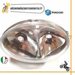 Gruppo ottico faro fanale anteriore Piaggio Vespa 125 150 ET4 dal 1996