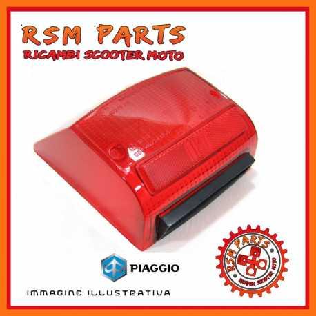 Plastica vetro stop posteriore Piaggio PX 125 150 200 Arcobaleno