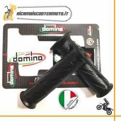 Coppia manopole standard Domino Moto Stradale Nere