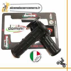 Coppia manopole standard Domino Moto Nere