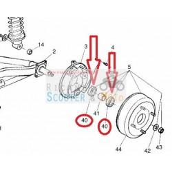 Cuscinetto ruota posteriore Ligier Ambra - Nova 500