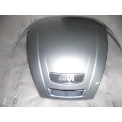 Pour couvrir Givi E370 top box plomb gris