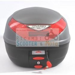 Bauletto 26L Top Case con piastra Originale Malaguti Titanium