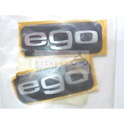 Kit targhette logo EGO Originale Aprilia