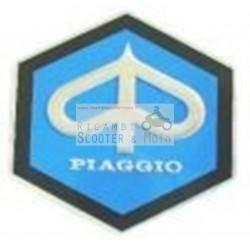 Scudetto Esagonale Piaggio 26 Mm Vespa 50 Primavera 125 Et3