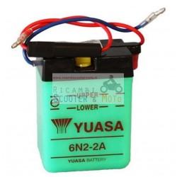 Batteria Yuasa 6N2-2A-1 6V/2Ah Yamaha Tt 350