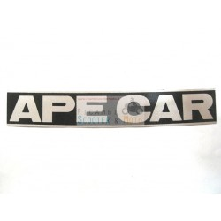 Adhesive label Cabin Logo Frieze Piaggio Ape Car First Series