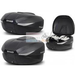 Bauletto moto scooter SHAD espandibile e regolabile da 46 a 58 Litri