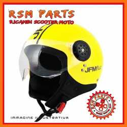 Casco Demi Jet Giallo Fluorescente TG XL