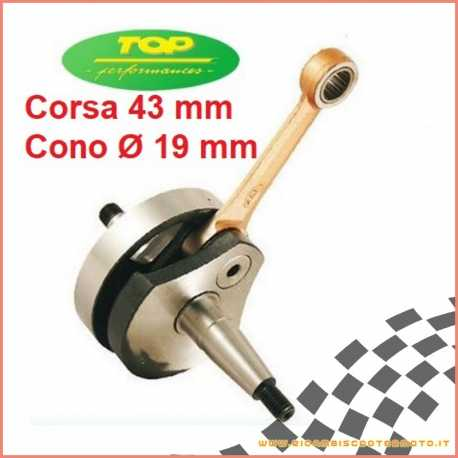 Albero motore TOP cono 19 PIAGGIO Vespa 50 Special PK APE 50