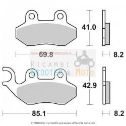PASTIGLIA FRENO ANT. ADIVA AD E3 / AD Cabrio LE E3 (SYM) 125 09/11