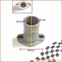 Collettore aspirazione alluminio Minarelli Ø 25 x 20 - 50