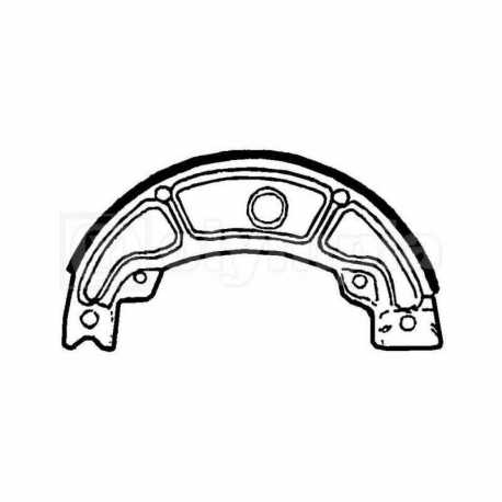 Rear Brake Shoes Piaggio Hexagon Gt 250 (A Pair)