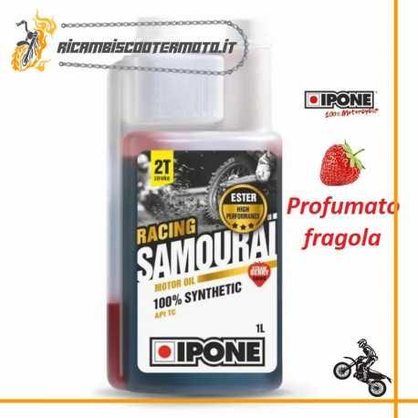 Olio Miscela IPONE SAMOURAI Sintetico 2T Fragola