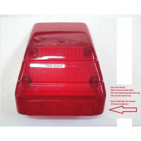 Vetro fanale stop posteriore CEV 278 Fantic Aprilia Cagiva Luce targa