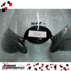 High Windshield Chrome Auktionen Faco Honda Sh 125 2001-2004