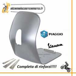 Legshield & floor board with reinforcements Vespa 125 VNB1-6 1959-1965