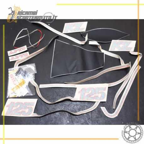 Serie decalco adesivi completa Originale GILERA KZ 125