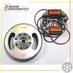 Volant moteur complet d'origine MORINI 50 3/4 vitesses système DANSI
