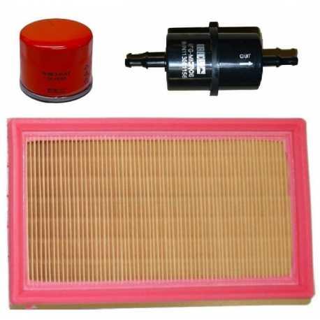 Kit filtro aria olio gasolio LOMBARDINI ITALCAR T2 T3 KING TASSO BINGO