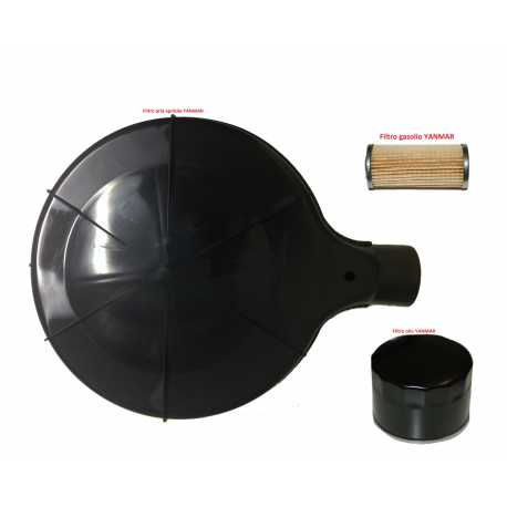 Kit filtro aria olio gasolio YANMAR JDM SIMPA
