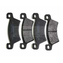 Rear brake pads kit MICROCAR MC1 MC2 from 2006