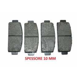 Rear brake pads LIGIER DUE' CARGO M8 IXO OPTIMAX
