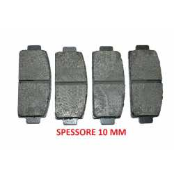 Rear brake pads kit MICROCAR MGO M8 DUE' COUPE'
