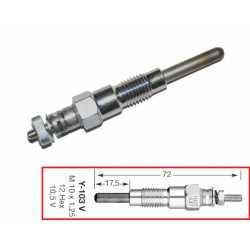 Glow plug YANMAR 523 2TNE68 CHATENET CH26 CH30 CH32