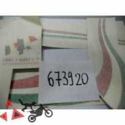 Kit De Plaque Signaletique Piaggio Vespa Px 150 150 2011-2017