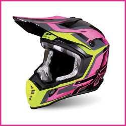 Enduro Cross Progrip Helm Blau Special High Impact ABS