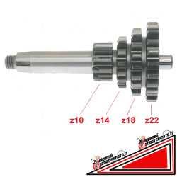 4 Gang Vierfachgetriebe Vespa 50 90 Primavera et3 pk 50 XL 50 125 fl2 PS 50 fl